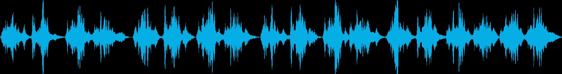 吟遊詩人の幻想的な響き「スカボロフェア」の再生済みの波形