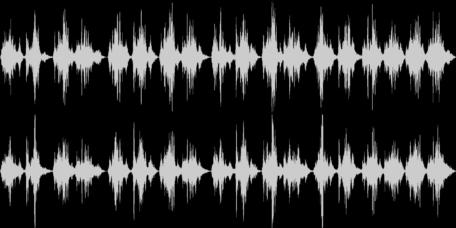 吟遊詩人の幻想的な響き「スカボロフェア」の未再生の波形