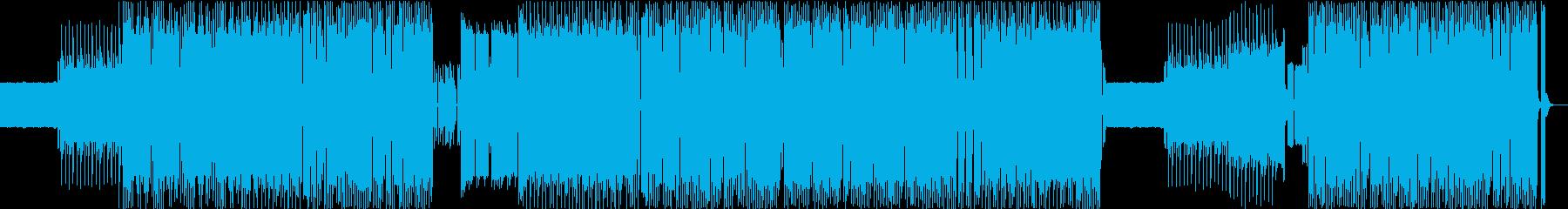 8bit風BGM・ゲーム・バトルの再生済みの波形