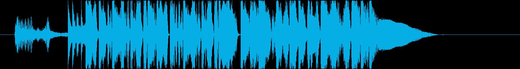 激闘を期待させるダークエレクトロジングルの再生済みの波形