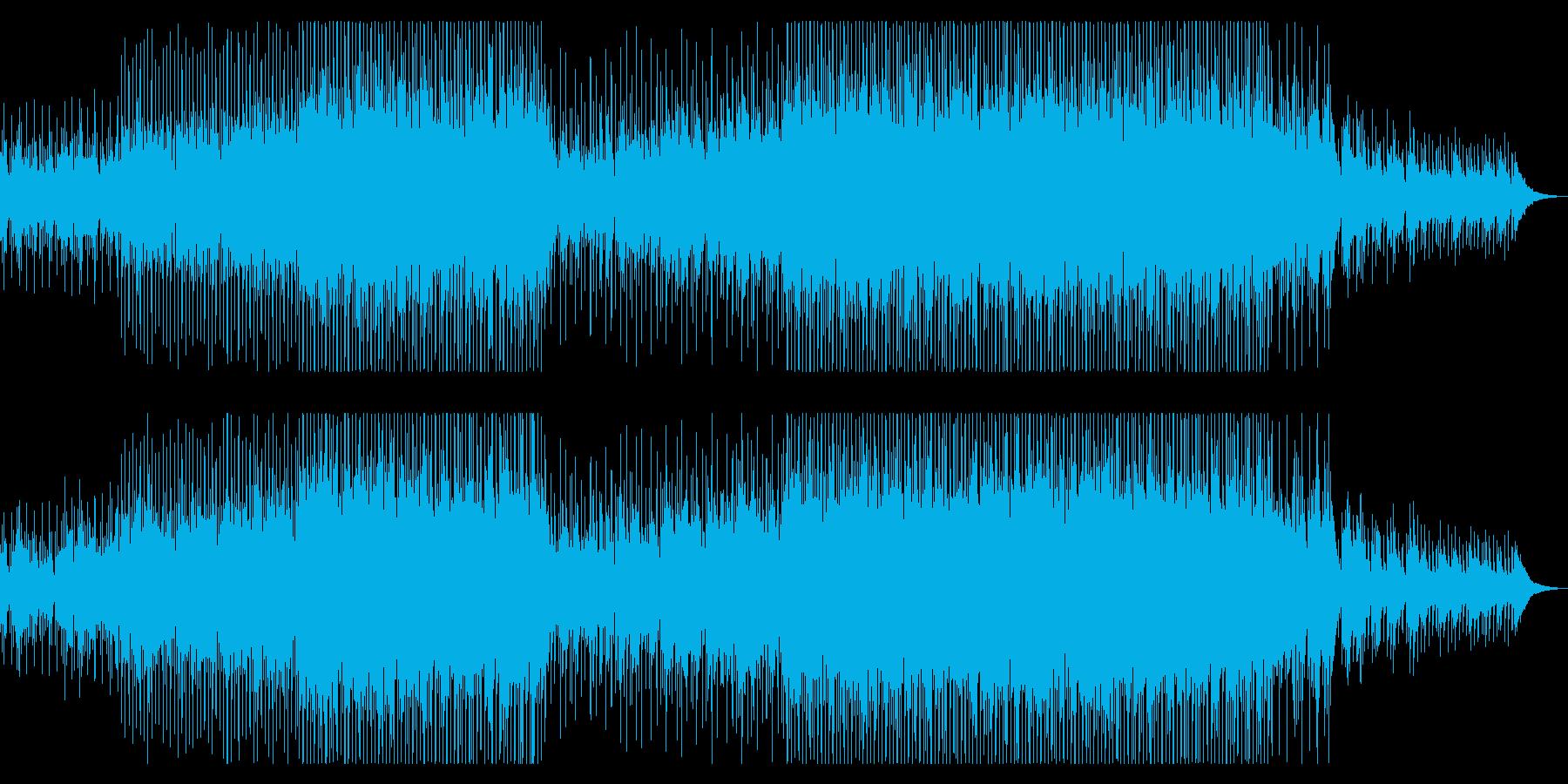 おしゃれで綺麗なコーポレート向けの再生済みの波形