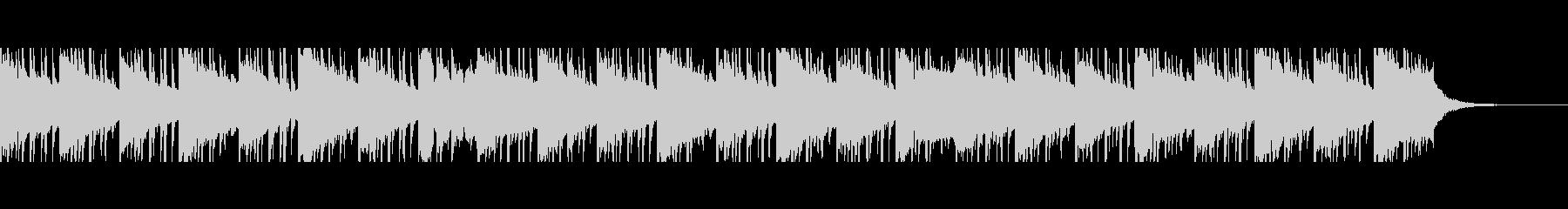 医療音楽(60秒)の未再生の波形