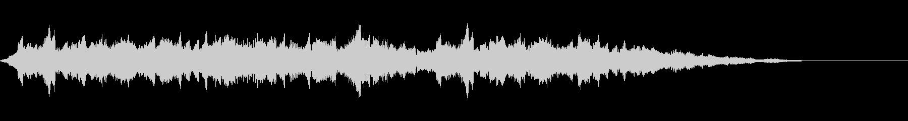 スペース3エイリアンミュージックボックスの未再生の波形