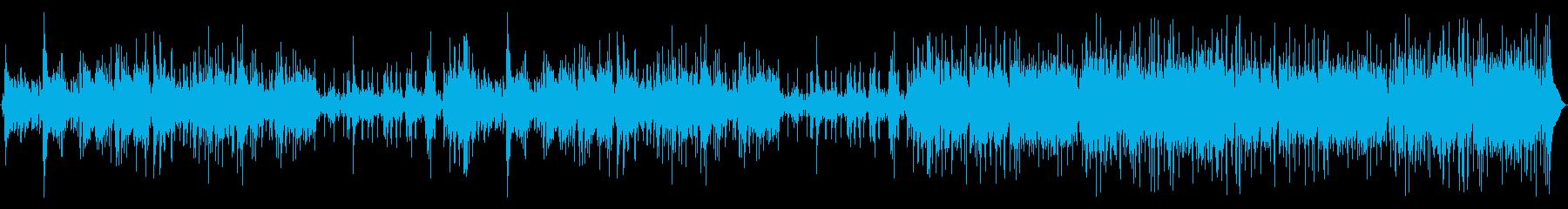 パンフルート、ハンドパーカッション...の再生済みの波形