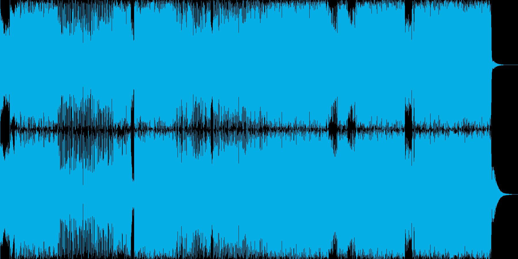 泣けるロックバラードの再生済みの波形