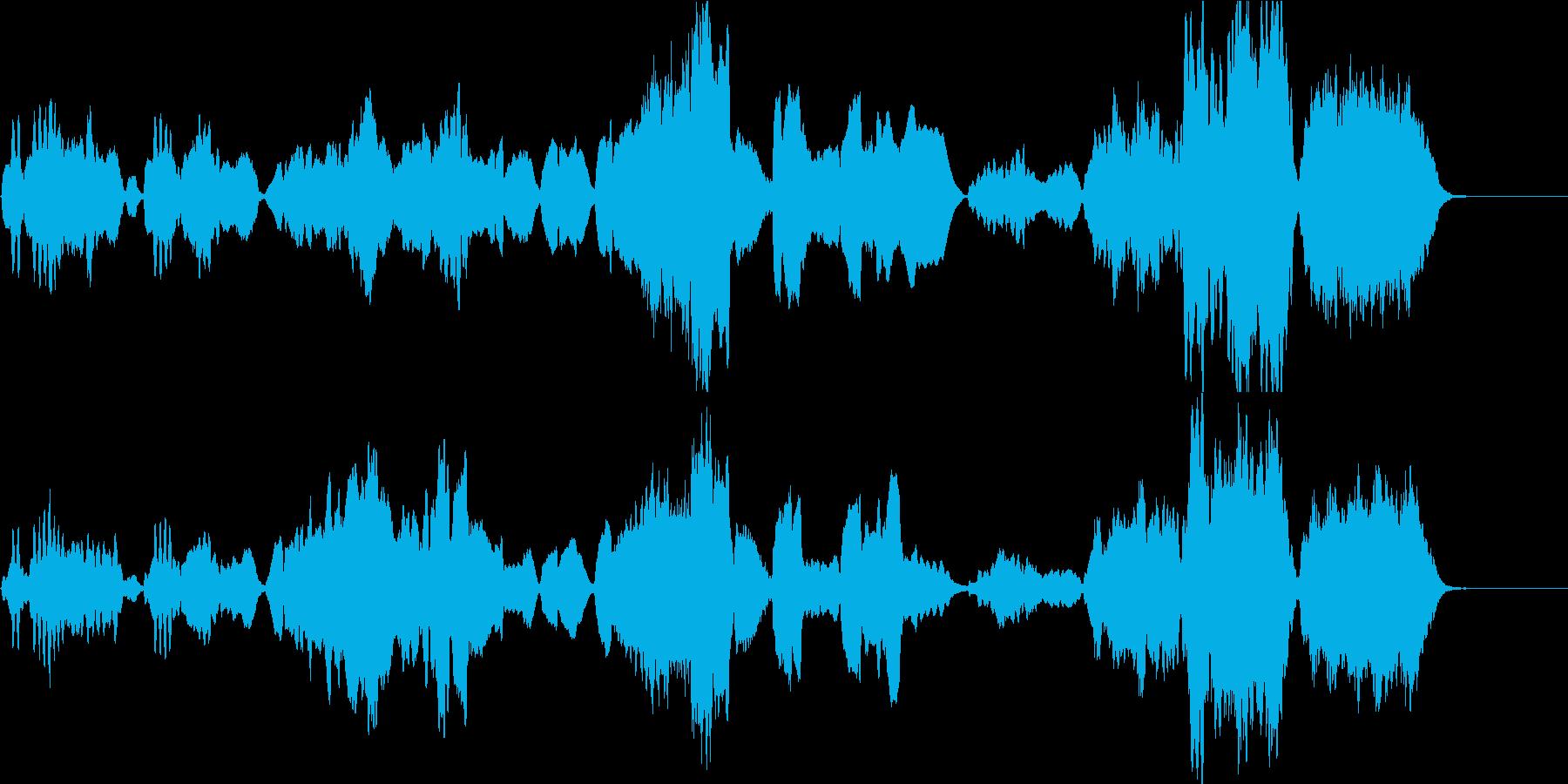 のどかでメルヘン、クラシカルな木管四重奏の再生済みの波形