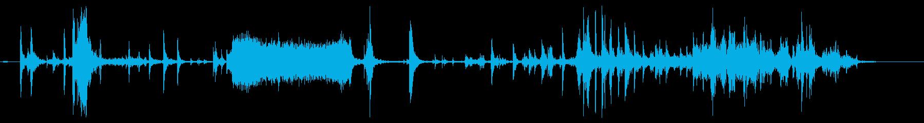 【銃】 SFガン ロード作業の再生済みの波形