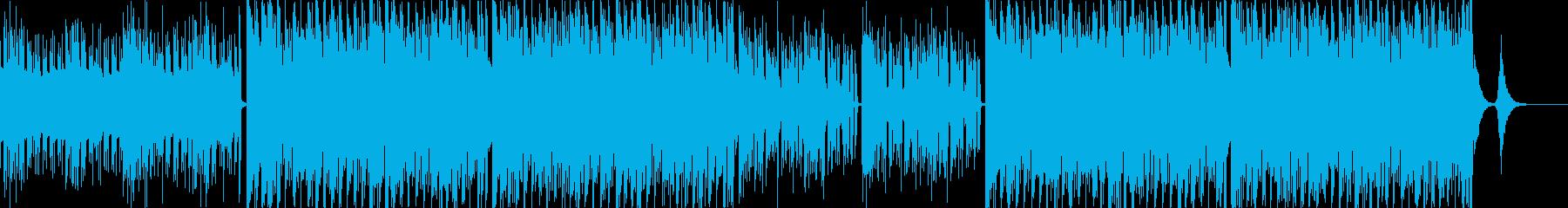 電子的な技術進歩を音で表現しました。し…の再生済みの波形