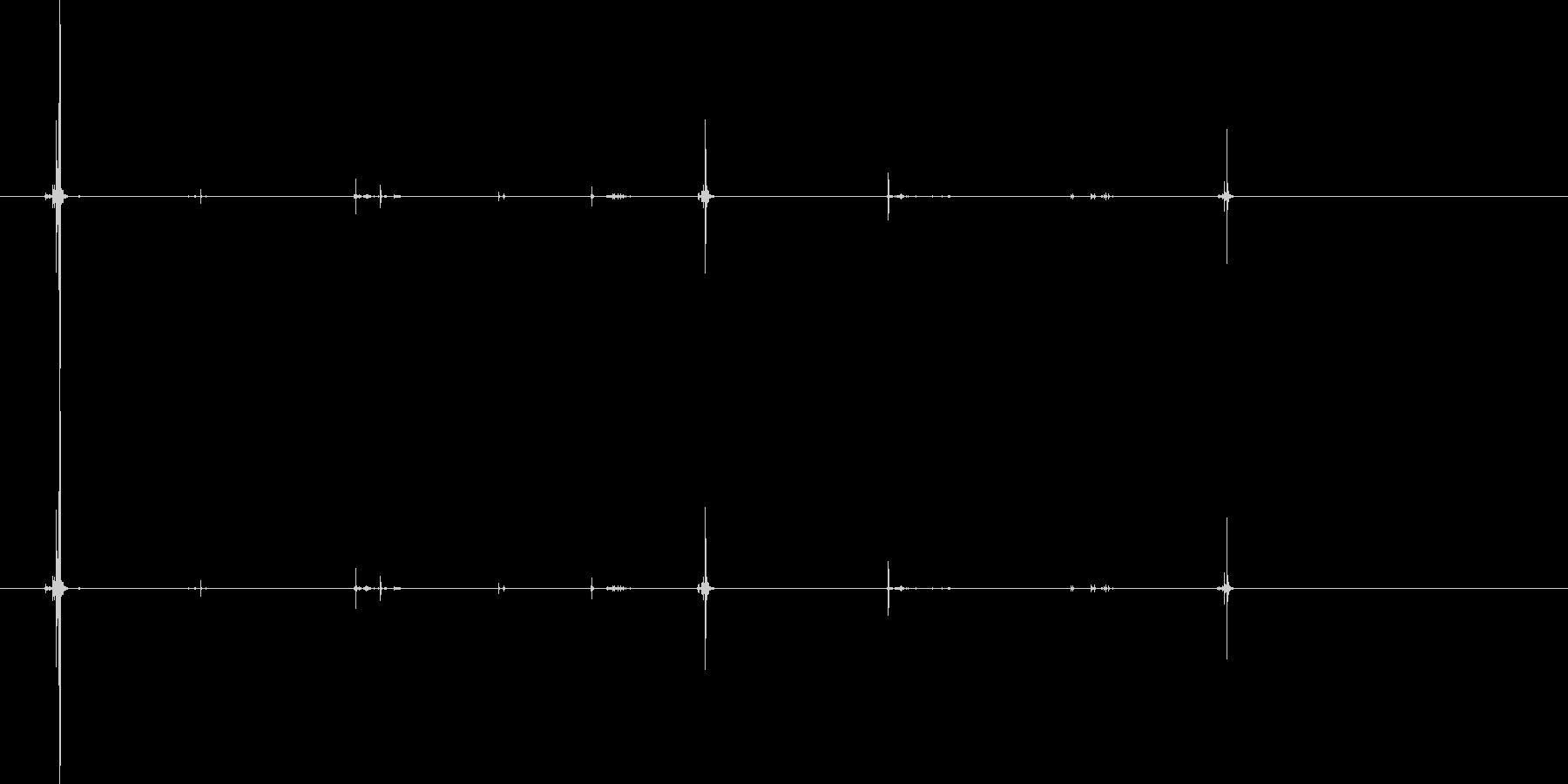 .45コルト:マガジンの挿入と取り...の未再生の波形