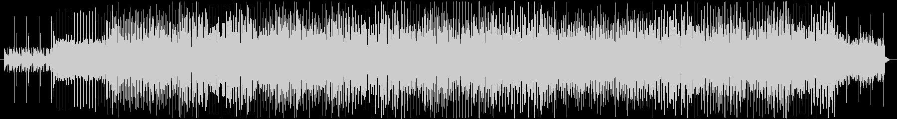 アコギのリズムが爽やかな曲の未再生の波形
