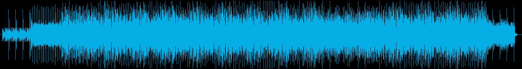 アコギのリズムが爽やかな曲の再生済みの波形
