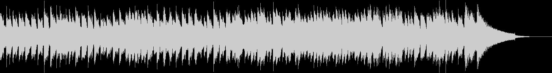中世ヨーロッパのバロックチェンバロの未再生の波形