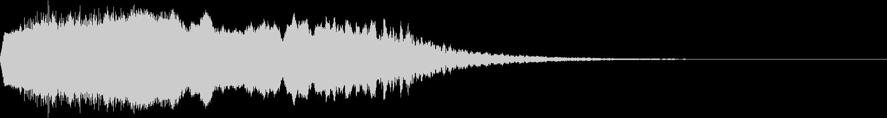 Riser アゲアゲ系 上昇音 1の未再生の波形