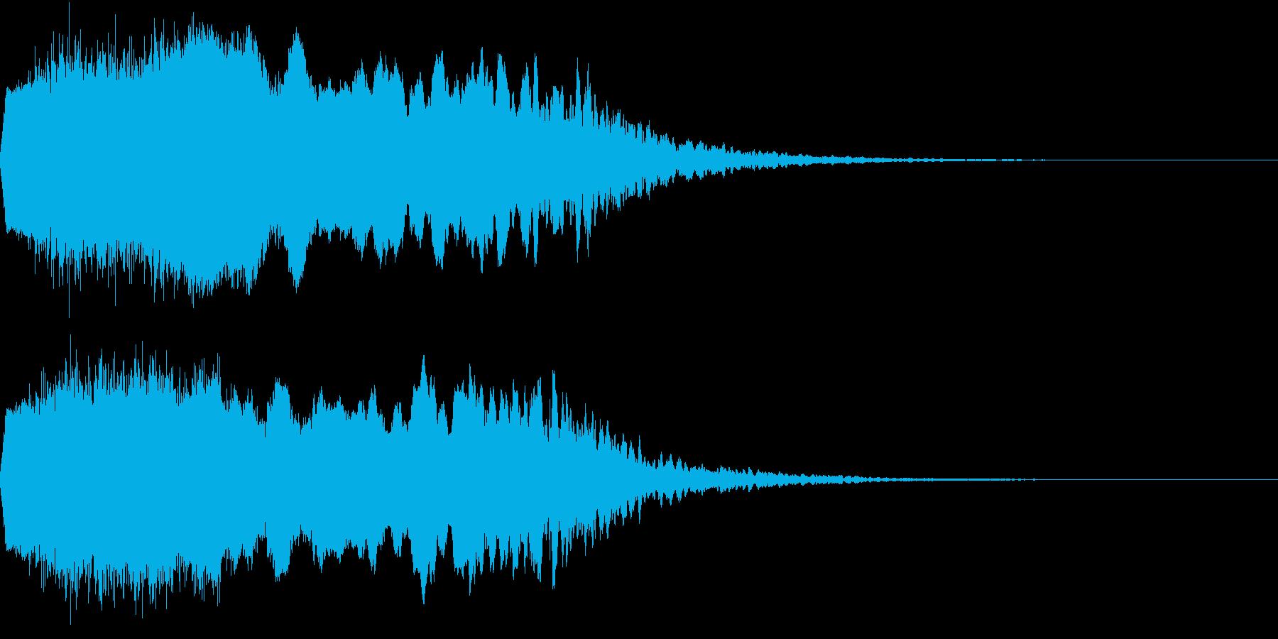 Riser アゲアゲ系 上昇音 1の再生済みの波形