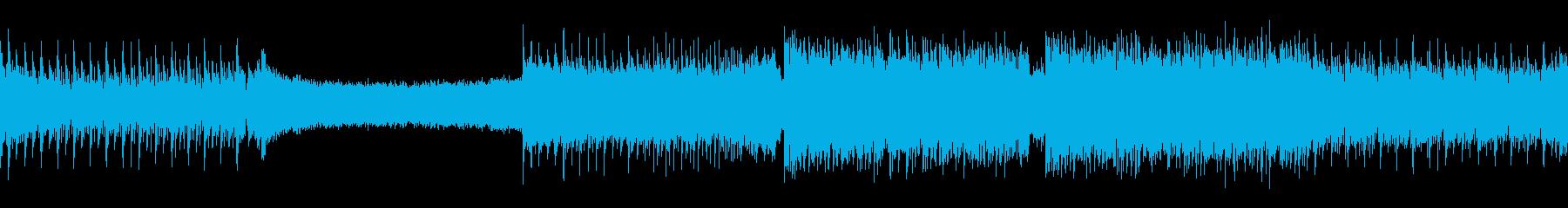 ループ/明るく軽快なかわいいトランスの再生済みの波形