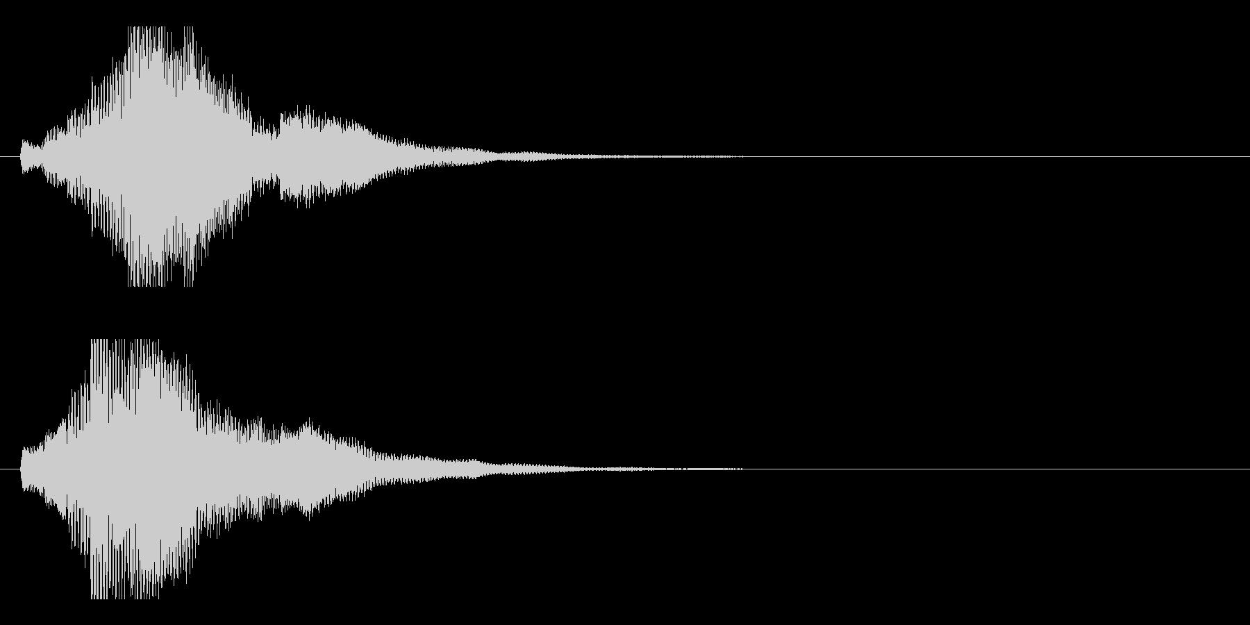 ハープ・上昇_6-3の未再生の波形