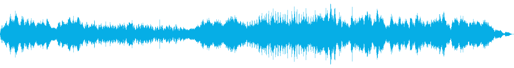エスニック感漂うスペースサウンドスケープの再生済みの波形