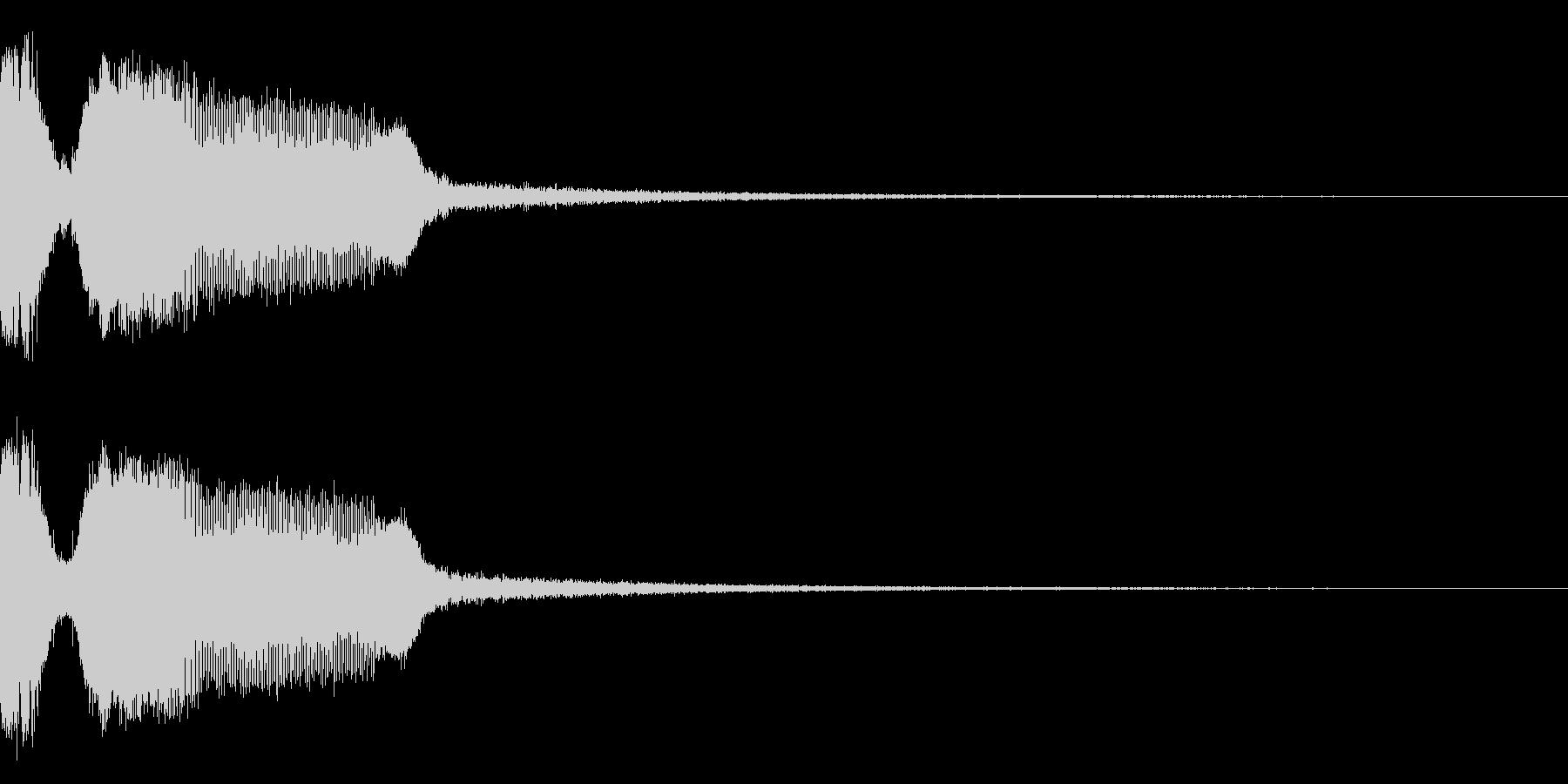 DJFX ヒットチャート発表前SE 12の未再生の波形