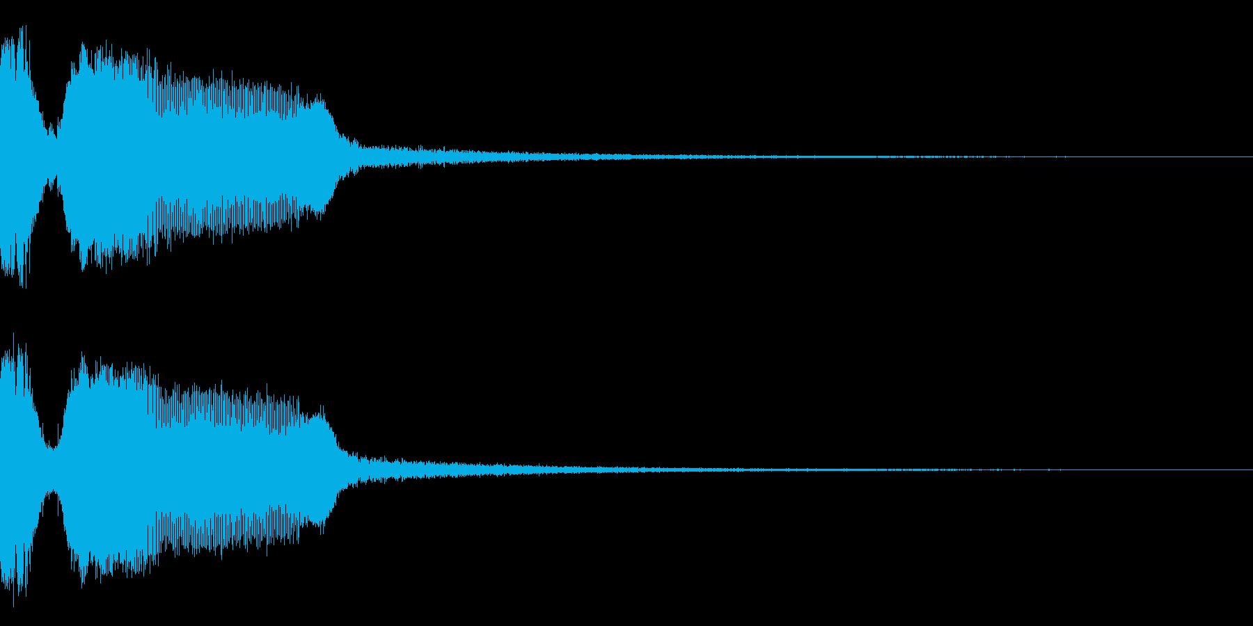 DJFX ヒットチャート発表前SE 12の再生済みの波形