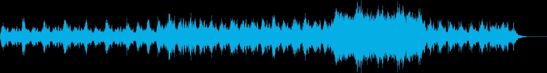 神秘的/ヒーリング/漂う/波の再生済みの波形