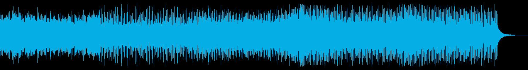 シネマティックなトラップミュージックの再生済みの波形