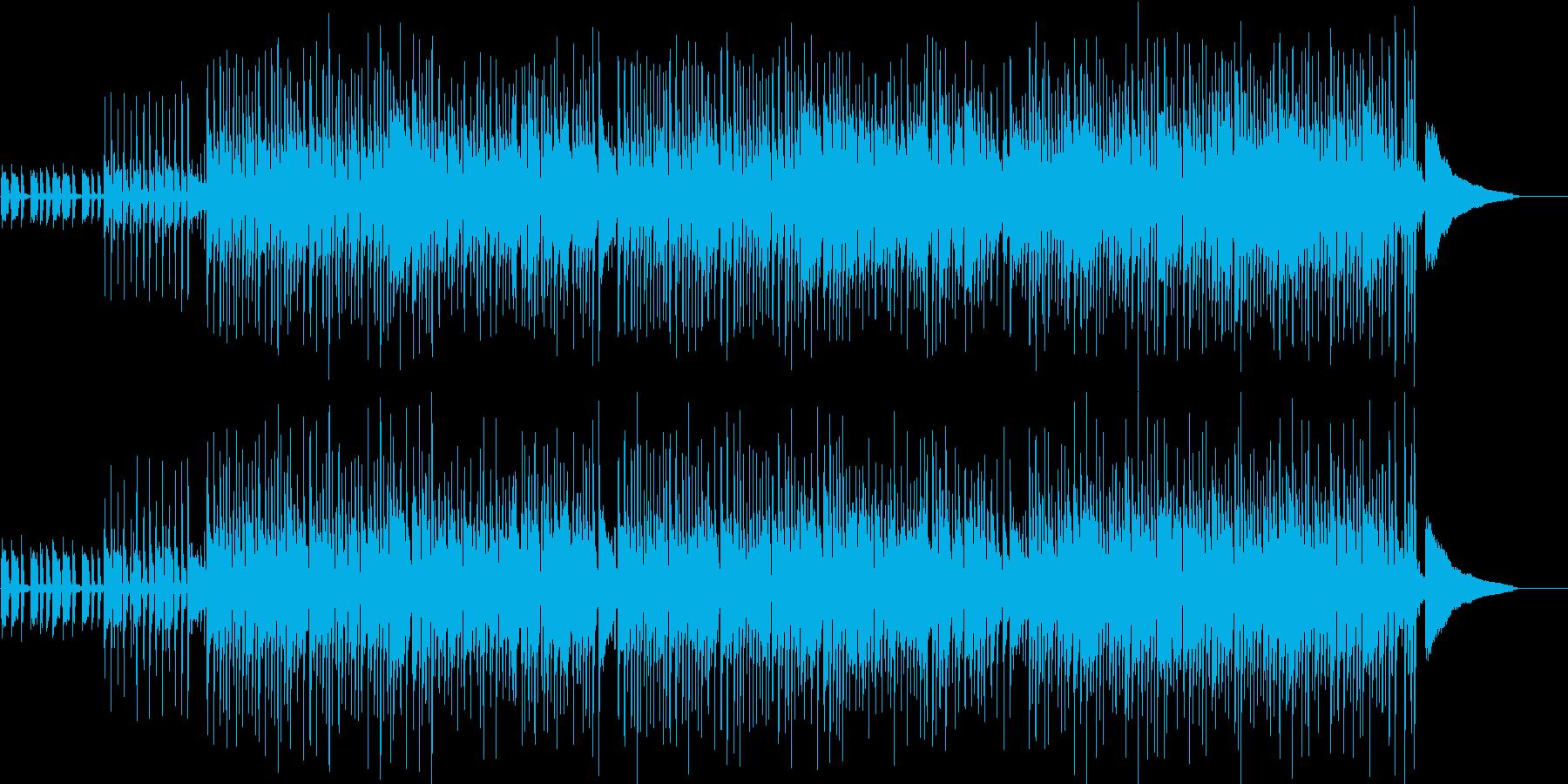 ■ボサノバ風・朝・さっぱり・ギター・優雅の再生済みの波形