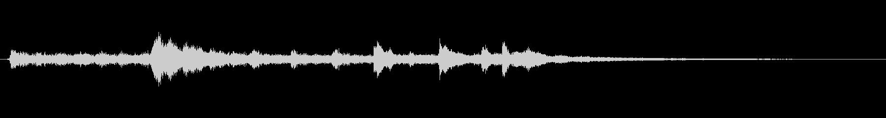 ボコーダ ボコーダーボーカル01の未再生の波形