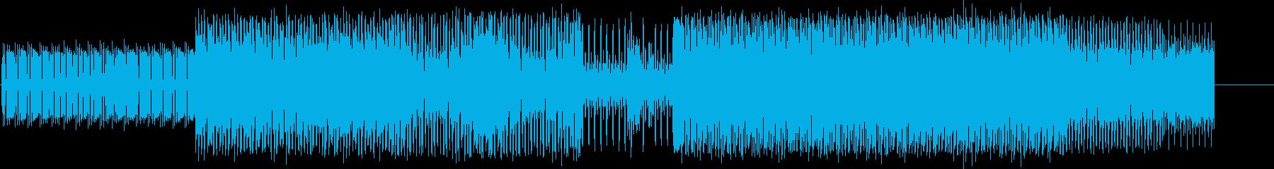 家の再生済みの波形