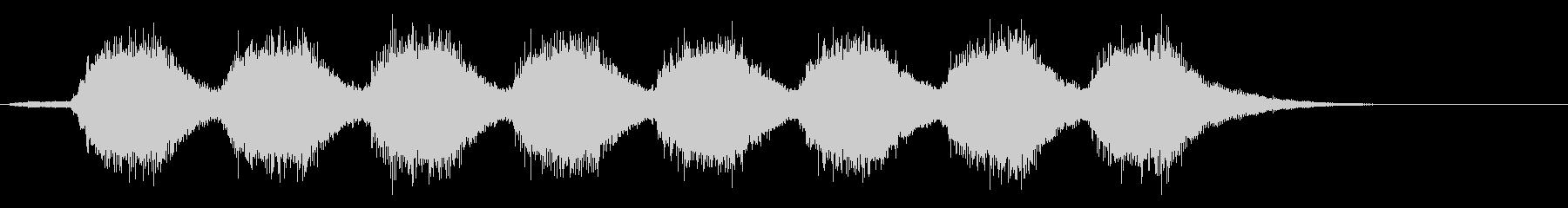 KANT よくない時に鳴るアラーム音1の未再生の波形