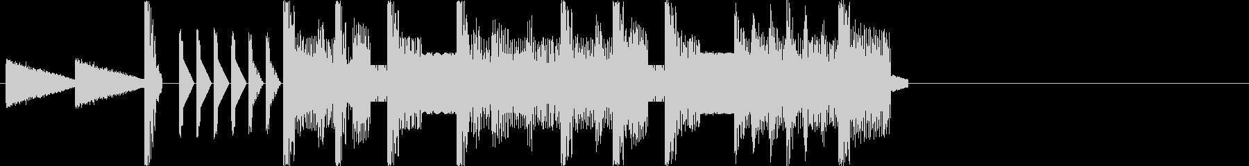 本格的ファミコン クールなジングルの未再生の波形