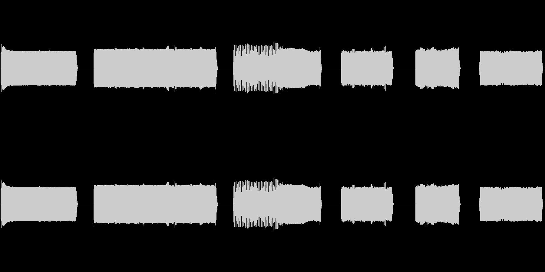 ノイズ、バースト、シグナル、ムービ...の未再生の波形