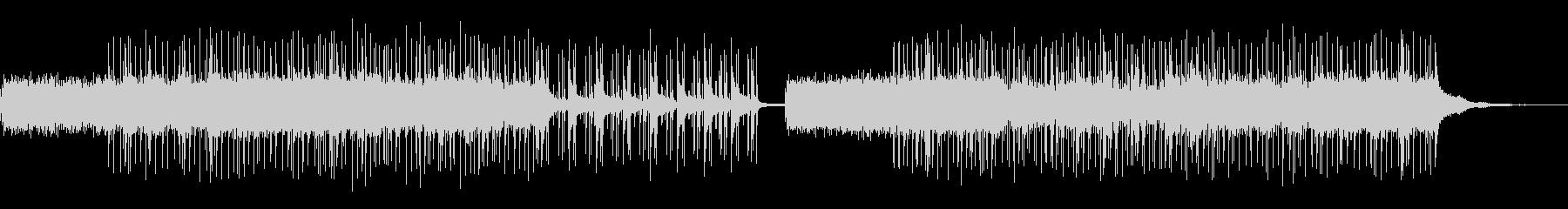 ジャズBGMの未再生の波形