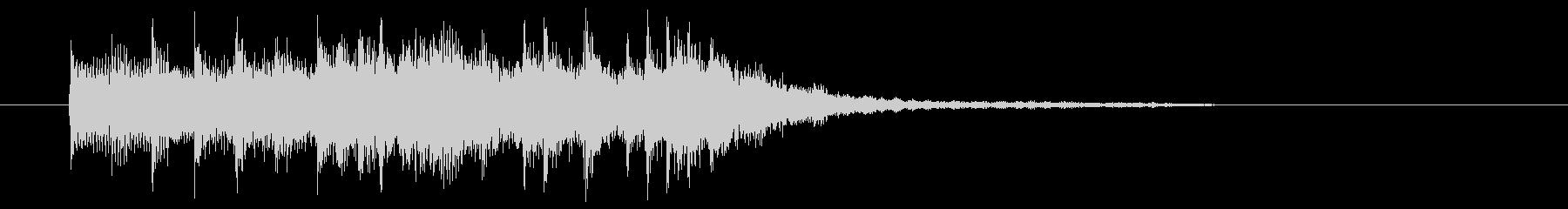 シンセベースが引っ張るエレクトロサウンドの未再生の波形