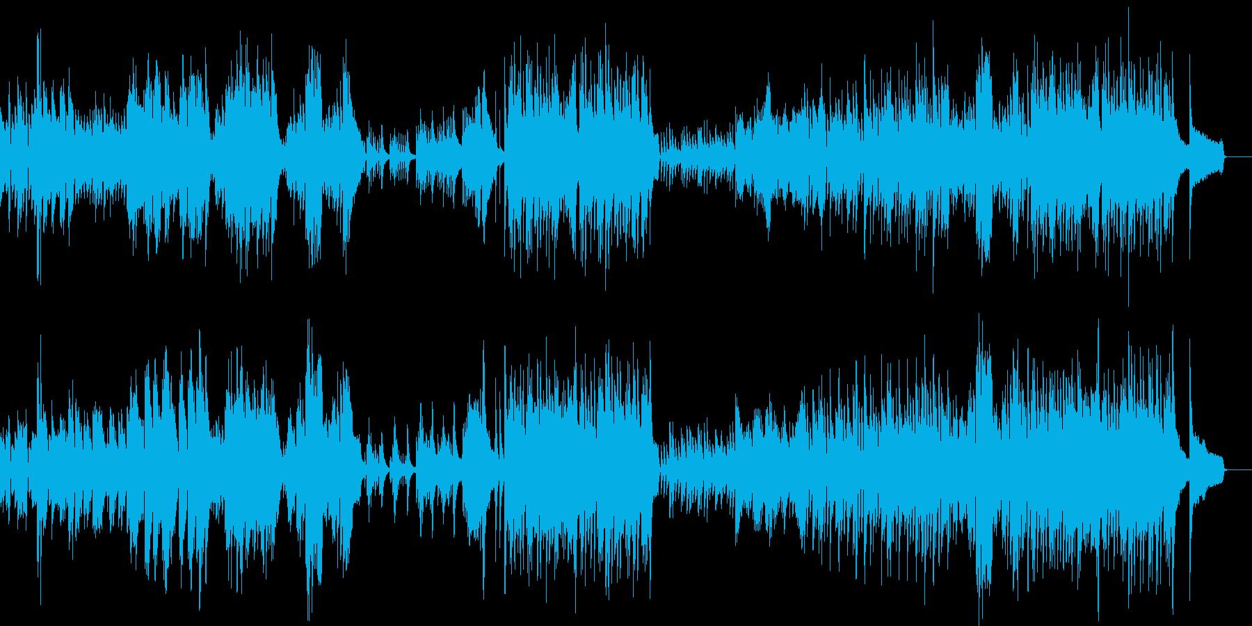 童話 子供向け映像に適したピアノソロの再生済みの波形
