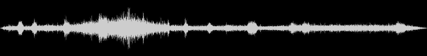 トランジスタラジオ:AM BAND...の未再生の波形