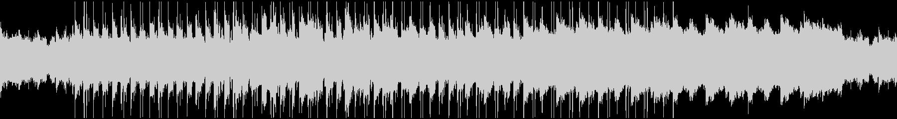 エレキピアノによるゆったりした曲調です。の未再生の波形