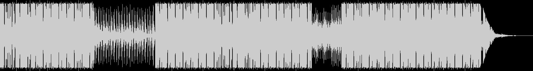 Electro Rock の01の未再生の波形