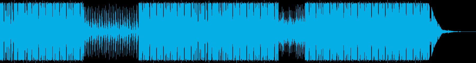 Electro Rock の01の再生済みの波形