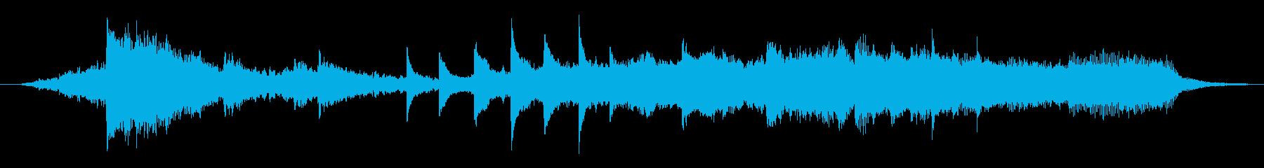 映像用BGM_ショッキングから幸せに 2の再生済みの波形