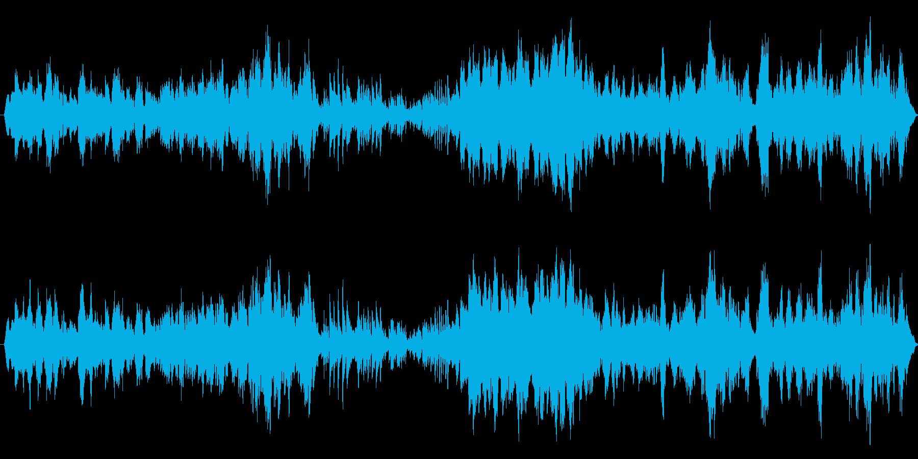 ヴァイオリンとピアノのシンプルな曲ですの再生済みの波形