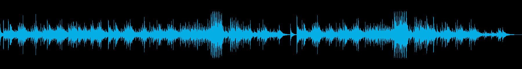 ショパン「別れの曲」和風箏アレンジの再生済みの波形