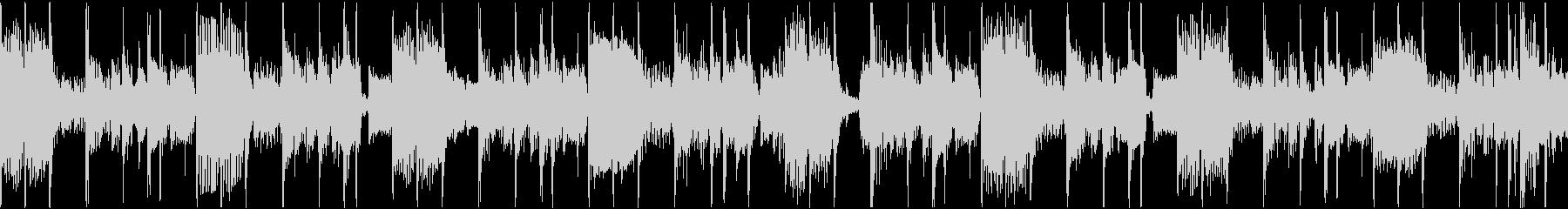 ベースがクールなファンクトラックの未再生の波形