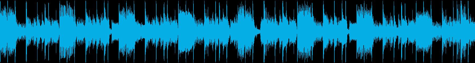ベースがクールなファンクトラックの再生済みの波形