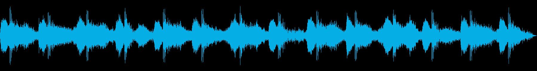 ヒーリングアンビエント_虫の声_Aの再生済みの波形