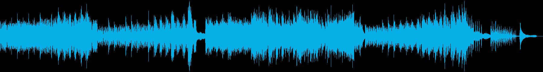 道標の再生済みの波形