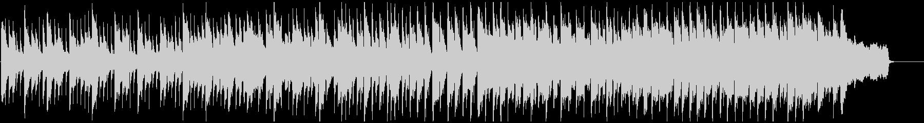 メルヘンチックでキラキラしたリコーダー曲の未再生の波形