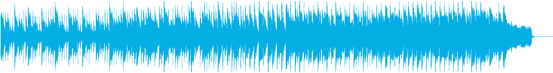 メルヘンチックでキラキラしたリコーダー曲の再生済みの波形