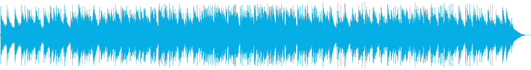 Slow and mellow acoustic sound's reproduced waveform