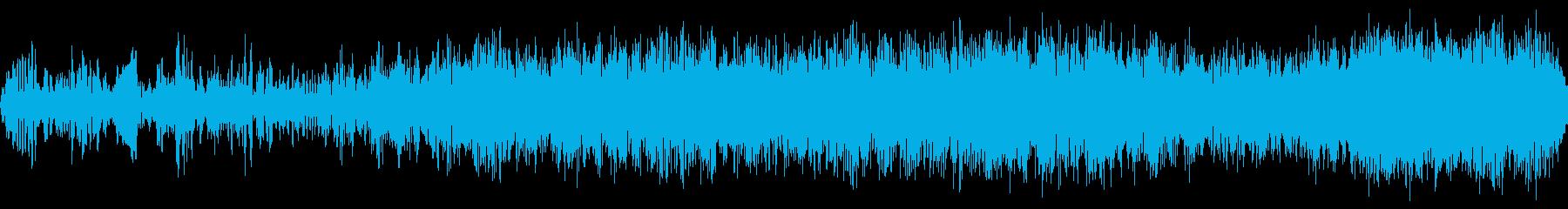 フラタリングノイズ遷移の再生済みの波形
