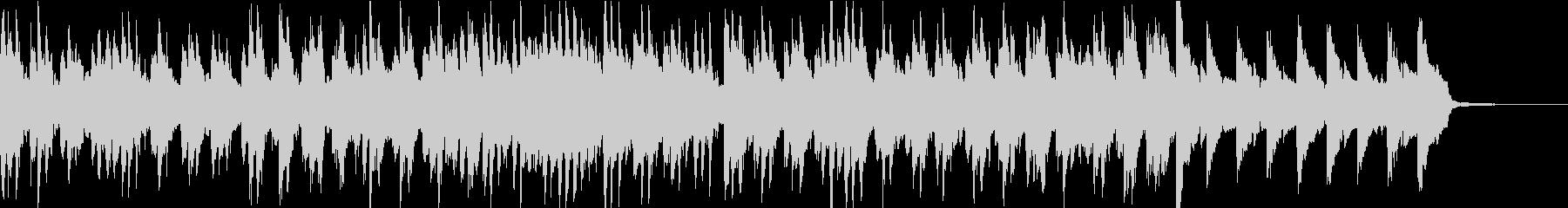 ゆったりしたかわいい日常の曲の未再生の波形